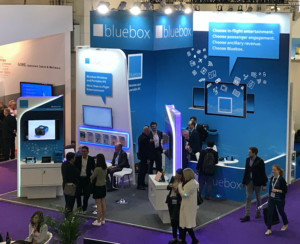 Photo of Bluebox stand at AIX18