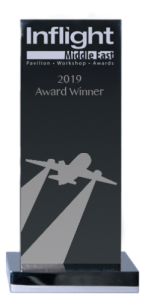 Photo of Inflight Middle East award trophy