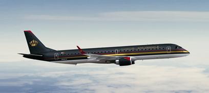 Royal Jordanian Embraer E195